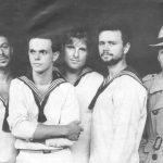 "PANKOW 1982 TV-Clip ""Seensucht"" v.l.n.r. Frank Hille, Jürgen Ehle, Rainer Kirchmann,  Jäcki Reznicek, André Herzberg"