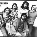 PROGRESSIV  1976 v.l.n.r. Siegfried Max, Karl-Heinz Gierke, Axel Fischer, Manfred Pohl, unten Rainer Kirchmann